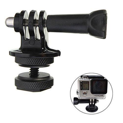 GoPro 5 4 pricewize 1/4'' attacco rapido adattatore+CAVALLETTO+avvitare per GoPro Hero 2 3 3+ 4 5 DSLR Camera generic