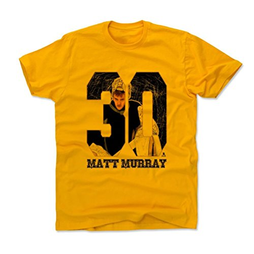500 LEVEL's Matt Murray Game K Pittsburgh Hockey Kids T-Shirt 10-12Y Gold Officially Licensed by the National Hockey League Players Association (NHLPA)