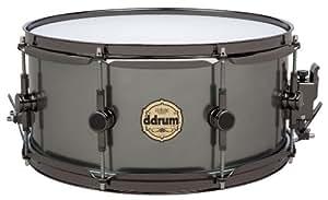 Ddrum Vintone VT SD 5X14 14-Inch Snare Drum - Black Anodized Aluminum