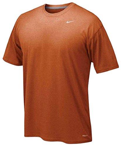 Nike Lacrosse T-Shirt - Nike Legend Poly Top Amber M Lacrosse ()