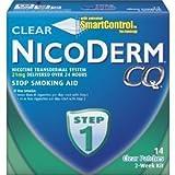 Nicoderm CQ Step 1 Clear Patch 14-pk.