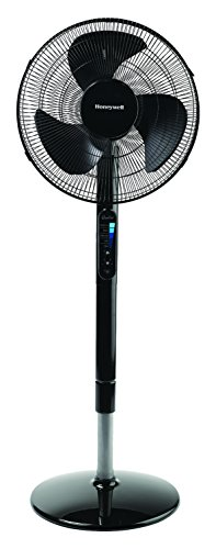 Honeywell HSF600B Advanced QuietSet Whole Room Pedestal Fan