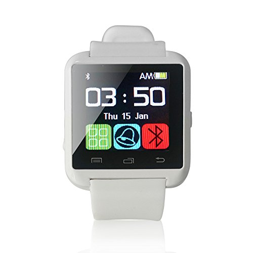 U8 Bluetooth Smart Watch Phone WristWatch for IOS Android iphone/Samsung/HTC (White) - 9