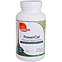 Zahler PowerCal, Calcium Supplement with Vitamin D, Promotes Healthy Bones Teeth and Gums, Certified Kosher, 1000mg, 90 Tablets