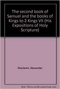 Maclaren's Expositions of Holy Scripture