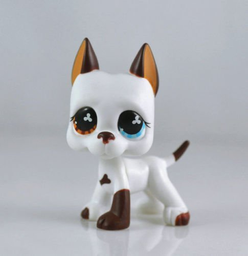 good luck store LPS Littlest Pet Shop White & Brown Great