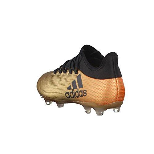 adidas X 17.2 Fg, Scarpe da Calcio Uomo Oro (Tagome/Cblack/Solred Tagome/Cblack/Solred)