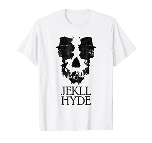Dr. Jekyll Mr. Hyde Cool Graphic Text Design Tshirt