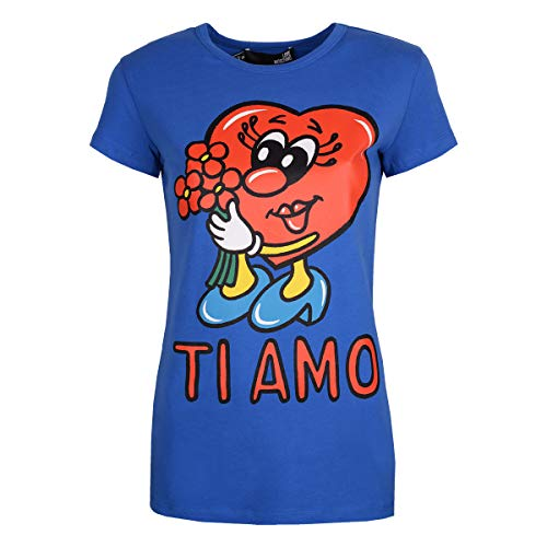 IT44 F73 1512 E W Love Shirt 4 T 05 40 Moschino qfgZxSwR