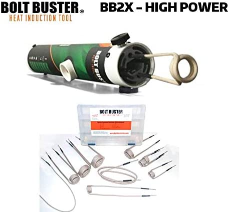 Bolt Buster High Power Heat Induction Tool with Advanced Coil Kit BB2X-ACC