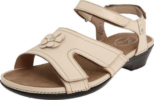 Womens Petal Slingback Sandal (Drew Shoe Women's Petal Slingback Sandal,Cream,8 W US)