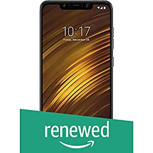 (Renewed) POCO F1 MZB6645IN (Graphite Black, 64GB)