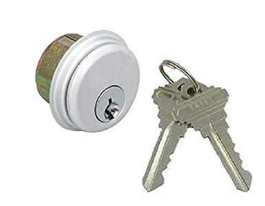 Schlage Keyway Mortise Cylinder for Adams Rite Kawneer Storefront Locks 2-Keys