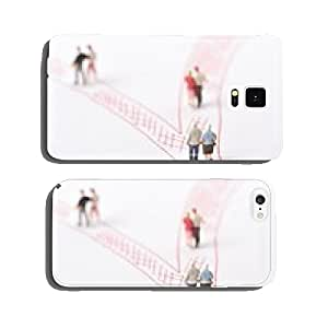 Husband and wife and the fork in the road cell phone cover case iPhone5