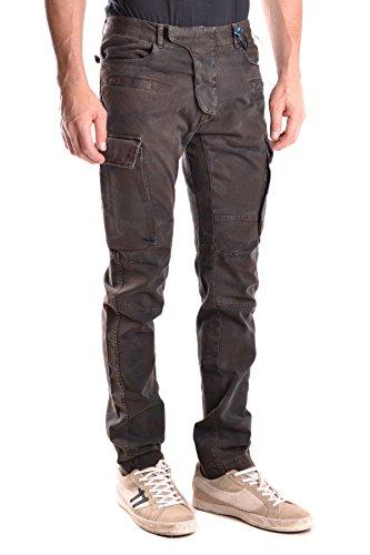 Daniele Alessandrini Homme MCBI086419O Multicolore Coton Pantalon