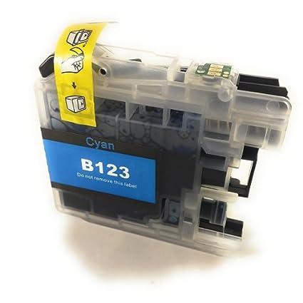 Générique - Cartucho compatible Brother LC123 C CIAN para ...