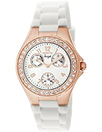 Women's 1646 Angel Jelly Fish Crystal-Accented 18k Rose Gold-Plated Watch