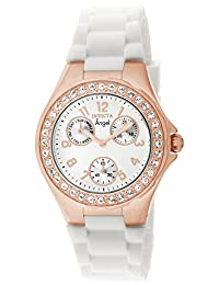 Invicta Women's 1646 Angel Jelly Fish Crystal-Accented 18k Rose Gold-Plated Watch