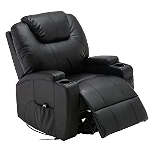 New Electric Lift Power Recliner Chair Heated Massage Sofa Lounge w/R Control