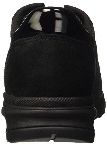 Geox Donne Airell Sneaker Nera 1 Della Moda