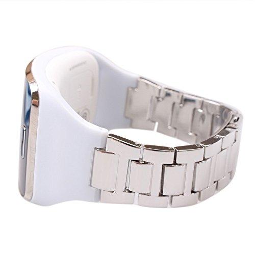 Alonea Stainless Steel Metal Watch Band Wrist Strap Bracelet For Samsung Gear S SM-R750