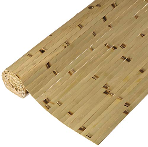 Forever Bamboo Bamboo Panel 4ft x 8ft, Raw Green Burnt (Raw Panel)