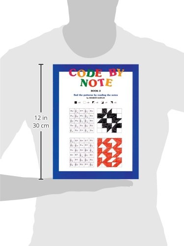 Code by Note, Bk 2: Find the Patterns by Reading the Notes (Color ...