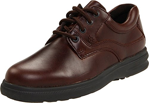 Hush Puppies Mens Glen Oxford, Dark Brown, 44 D(M) EU/9.5 D(M) UK