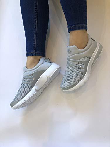 Donna Grey Grey Fashion Fashion Donna Fashion Sneaker Planet Planet Sneaker Rx6fw1ZH8q