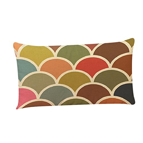 LUNIWEI Pillow Case Home Decor Bed Sofa Cushion Cover(No Pillow Insert)