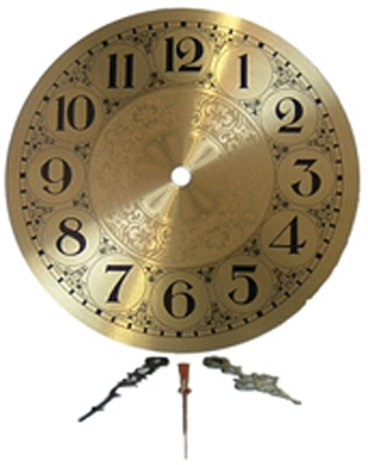 Clarity inch Brass Clock Hands