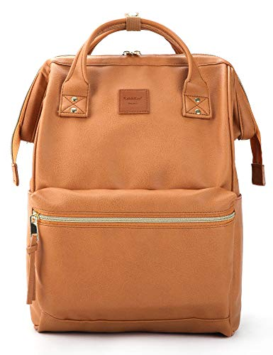 KahKee Leather Backpack Diaper