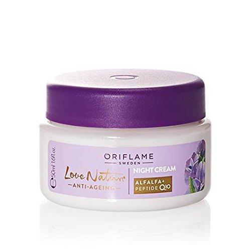 BIG SALE BIG SALE Oriflame Love Nature Anti-Ageing Night Cream 50ml. Sweden SALE FROM 15.50 USD