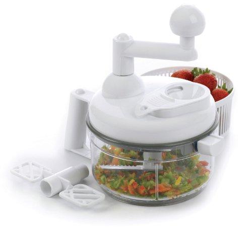 Progressive Manual Food Chopper And Salsa Maker Leafy Veg...