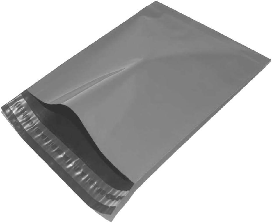 Buste postali in polietilene 10 cm x 14 cm colore grigio