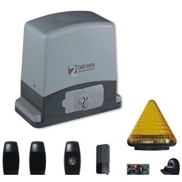 Kit Automatisme Portail Coulissant 600 Kg 220 V Automatisme Pour