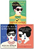 Kevin Kwan Crazy Rich Asians Trilogy Collection 3 Books Set Pack (Crazy Rich Asians, China Rich Girlfriend, Rich People Problems)