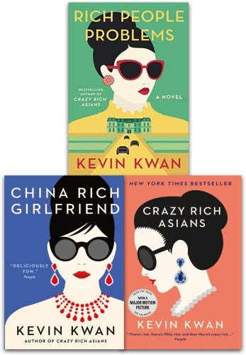 Kevin Kwan Crazy Rich Asians Trilogy Collection 3