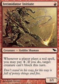 Magic: the Gathering - Intimidator Initiate - Shadowmoor