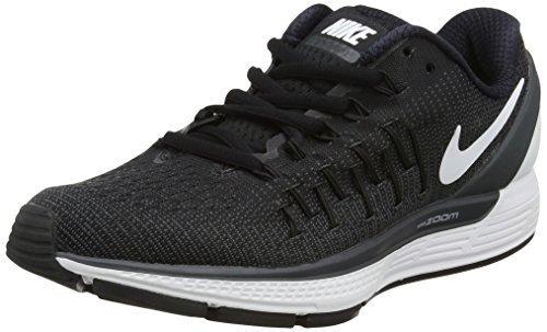 NIKE Odyssey Men's Running Shoes Size US 9.5, Regular Width, Color Crismon/Black/Volt