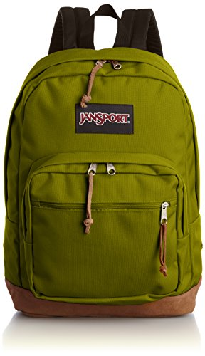 Jansport Right Pack Active Backpack - Forest Moss - 18h X 13w X 8.5d