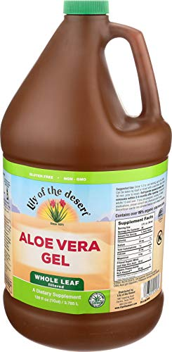 Lily Of The Desert Aloe Vera Gel Whole Leaf, 128 Fluid Ounce (Lily Of The Desert Aloe Vera Gel Ingredients)
