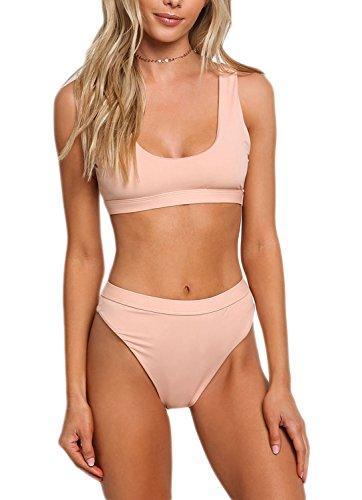 Blush High Waist Swimsuit Bikini - Love Culture Shop