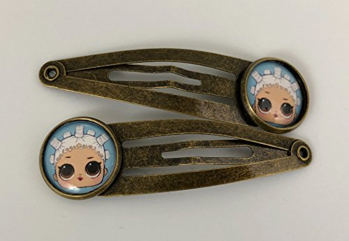 Fresh, LOL Style Doll, Antique Bronze Hair Clips, New, Gift