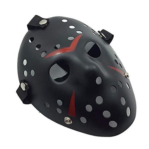 Horror Hockey Cosplay Costume Halloween Killer Masquerade Mask Halloween Mask D ()