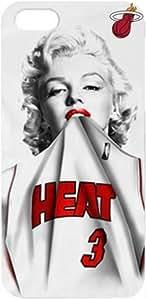 Loft 520 (TM) NBA Miami Heat Dwyane Wade Iphone 5 5s Case Marilyn Monroe case cover at Loft 520 Store