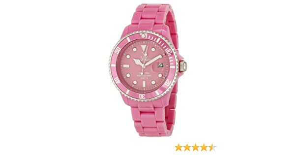 Amazon.com: Toy Watch Womens 33006-PK Plasteramic Watch: Toy Watch: Watches