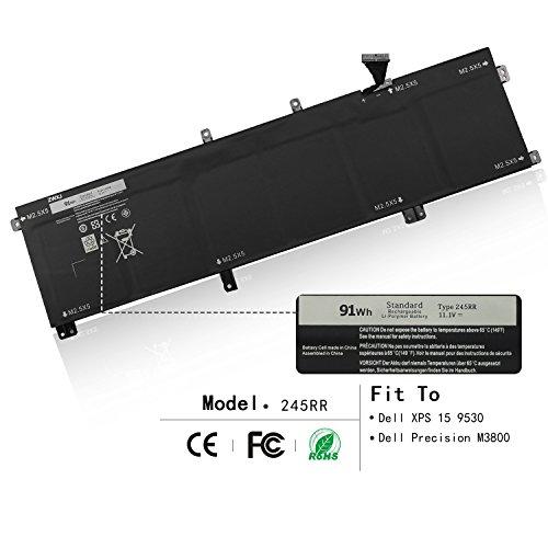 ZWXJ Laptop Battery 245RR for Dell XPS 15 9530 Dell Precisio