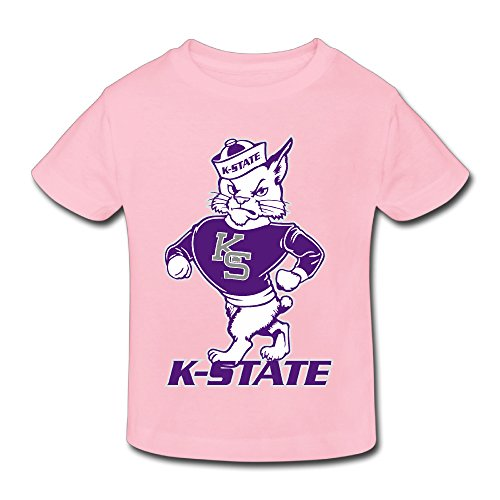 Toddler 100% Cotton Kansas State Wildcats LogoHot Topic T-Shirt