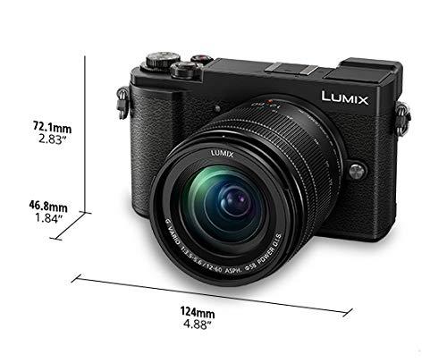 Panasonic Lumix DC-GX9MEF-K Digital MILC 20,3 MP Live Mos 5184 x 3888 Pixeles Negro - Cámara Digital (20,3 MP, 5184 x 3888 Pixeles, Live Mos, 4K Ultra HD, Pantalla táctil, Negro)